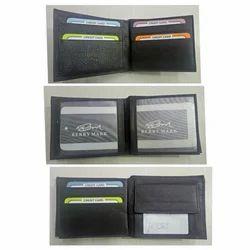 Black Berry Mark Designer Leather Wallet
