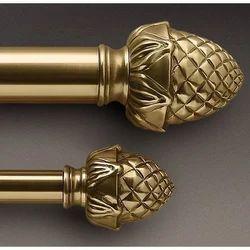 Brass Golden Curtain Rods Rs 120 Running Feet R S Enterprises