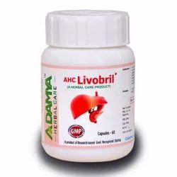 AHC Livobril Capsule 30 Capsules, Adamya Herbal Care