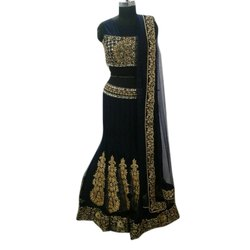 Net Party Wear Ladies Designer Lehenga Choli, 2.5-3 M