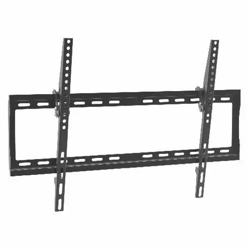 Mild Steel Black Adjustable Tilt TV Wall Mount, LED TV