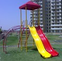 Ms Pipe With Fiver Red Play Ground Equipment, Capacity: 130 Kg