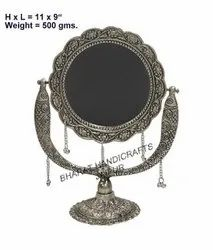 Metal Antique stand Mirror