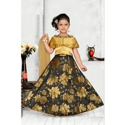 0bdf05f0782 Party Wear Round Kids Ghagra Choli