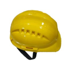 Yellow PVC Industries Safety Helmet, Packaging Type: Box