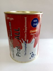 Soy Proteins Muscle Building PROTALL Powder, Packaging Size: 200 Gm, Weight: 200 Gm