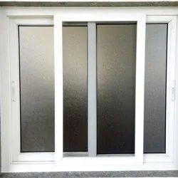 Kaka Rectangular UPVC Window, Glass Thickness: 10-15 mm