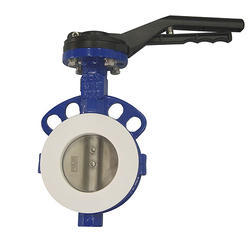 Teflon Lined Butterfly Valves, Size: 50 Mm - 300 Mm