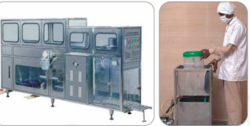 Pet Jar Rinsing Filling & Capping Machine