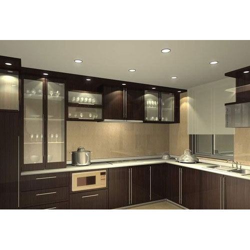 Modular Kitchen Magnon India: Indian Modular Kitchen, मॉडर्न किचन, मॉडर्न रसोई - Jovi Interiors, Chennai
