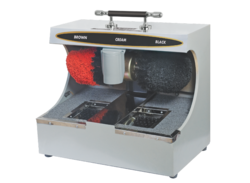 Automatic Shoe Polisher with Sole Cleaner Machine