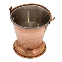 Copper Serving Bucket