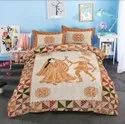 Barmeri Printed Double Bed Sheet