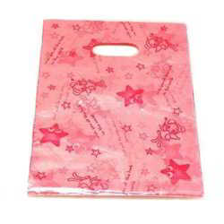 Star Printed Poly Bag