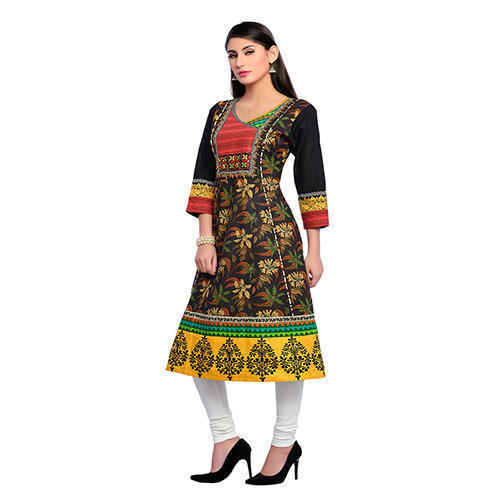 Chanderi And Chiffon Salwar Suit