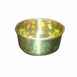 Brass Round Bowl, Packaging Type: Box