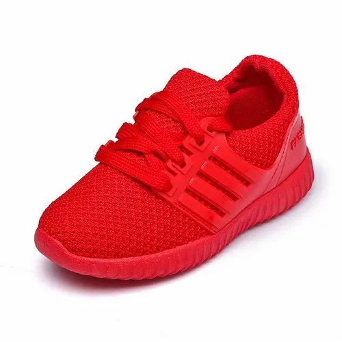 Red Globin Childrens Fashion Shoes, Rs