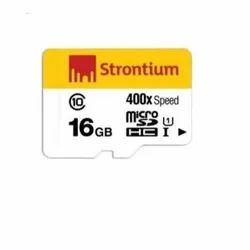 Strontium Nitro 400X Micro 16 GB Class 10 Memory Card