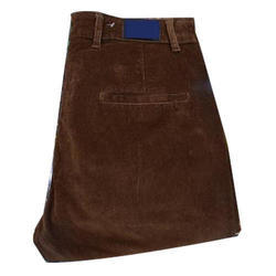 Mens Brown Cotrise Trouser, Size: 30-42