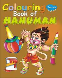 Coloring Book of Hanuman