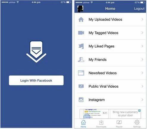 Facebook Video Downloader Android App in Narhe, Pune, Yalmar
