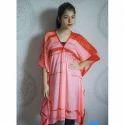 Ladies Tie Dye Printed Kaftan