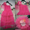 Pink Frilly Baby Dress