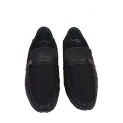 Daily Wear Synthetic Leather Mens Loafer Shoes, Packaging Type: Carton Box