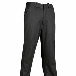 Cotton Black Uniform Pant