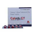 Calcitriol, Calcium Carbonate and Zinc Softgel Capsules