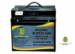 48V 24Ah Lithium Ion Battery for Electric Vehicles