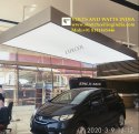 White Car Showroom Ceiling