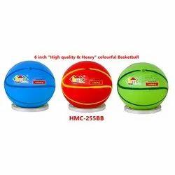 6 Inch Non-Toxic Colourful Basketball