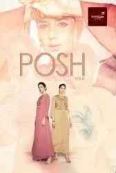 Beautiful Designer Salwar Suit Launching Posh Vol 8