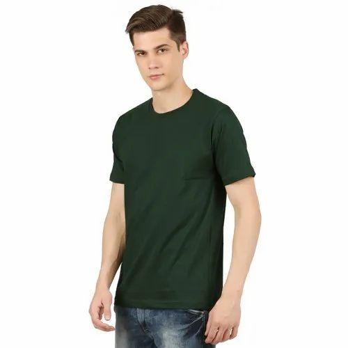 Round Neck T Shirt 100 % Cotton