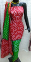 Bandhani Silk Dress Material
