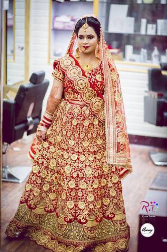 627f7ded97 Shahi Lehenga Velvet Dark Mehroon Bridal Lehenga Online On Rent, Rs ...