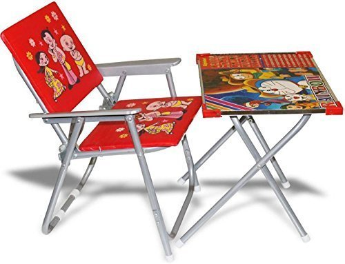 Jmk Toys Red Baby Chair And Table