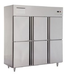 6 Door Vertical Refrigerator