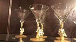 Transparent Drink Serving Glass, Capacity: 200 ml