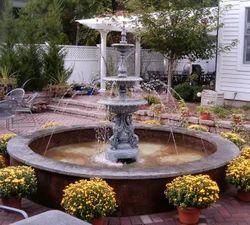 Garden 3 Stage Jet Fountain