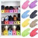 Space-Saving Plastic Storage Shoes Organizer