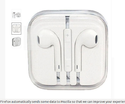 Apple Iphone 6 In Ear Wired Earphones With Mic