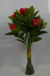 Artificial Plant With Flowers
