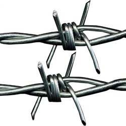 Stainless Steel Barbed Wire Fencing