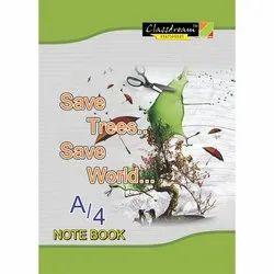 Perfect Bound Single Line,Plain Classdream Long A4 Notebook