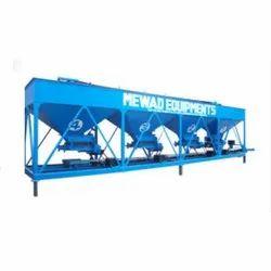 Mewad Equipments 2 Hp Four Bin Feeder Unit, Lifting Capacity: 4-6 Tons