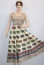 Sleeveless Rajasthani Frock