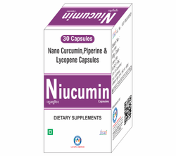 Nano Curcumin 500mg Piperine 5mg Lycopene 10mg