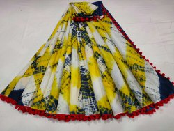 Party Wear Printed Pure Cotton Saree, Handwash, 6 m (with blouse piece)
